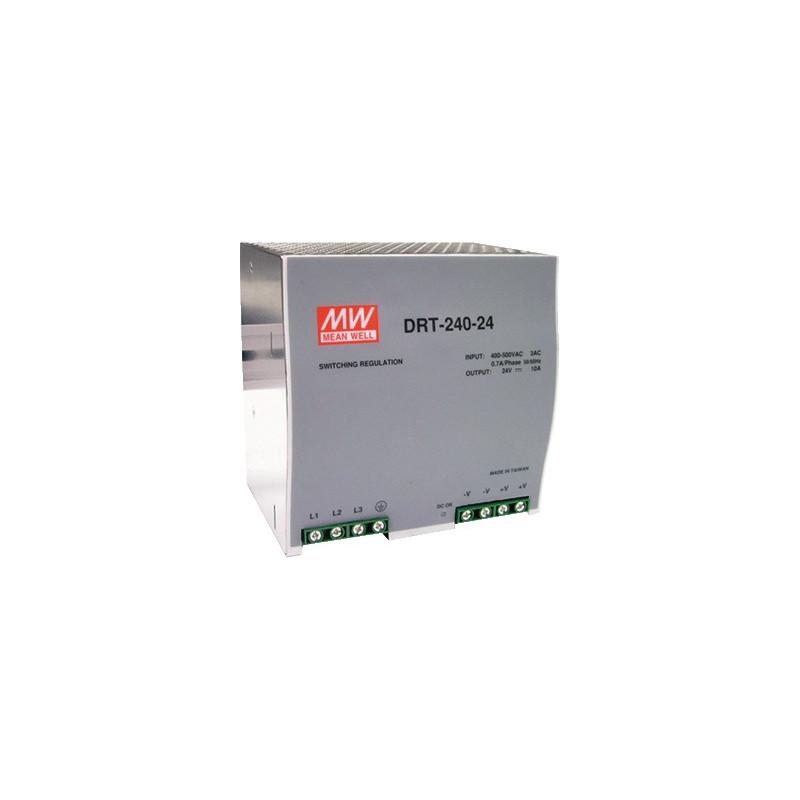 Power supply 24V 10A DRT-240-24