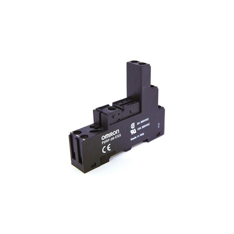 Omron relaybase P2RF-08-ESS black