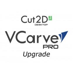 Vectric Cut2D Desktop to Vcarve Pro upgrade